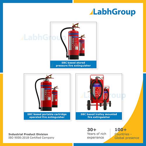 Sbc Powder Based Fire Extinguisher