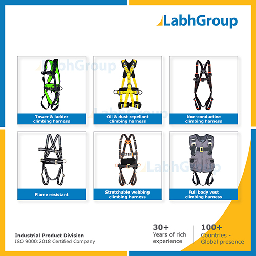 Fall Protection Harness For Industrial Safety