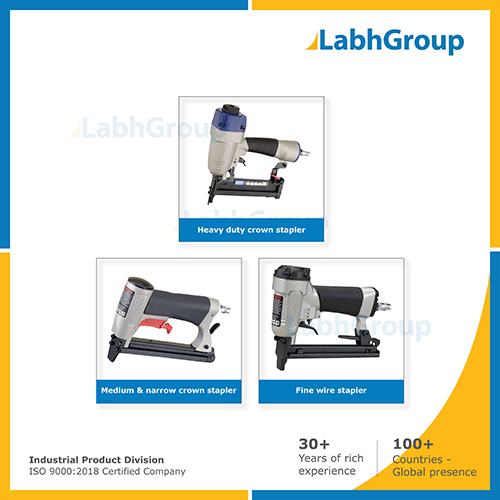 Pneumatic Fine Wire Staplers