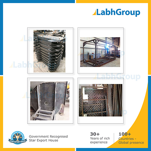 Mild Steel Fabrication Parts And Jobs