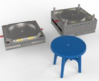 Kindergarten Round Desk Injection Mold