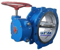 GOST standard double offset butterfly valves