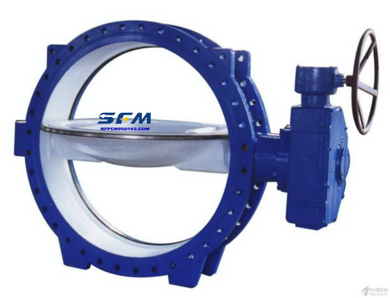 As Standard Double Eccentric Butterfly Valves