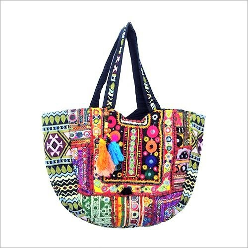 Jari Embroidery Hand Bag