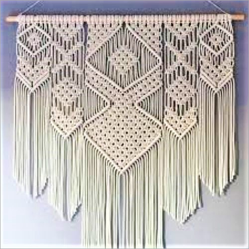 Macrame Cotton Wall Hanging
