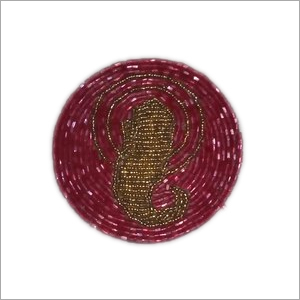 Beaded Placemat