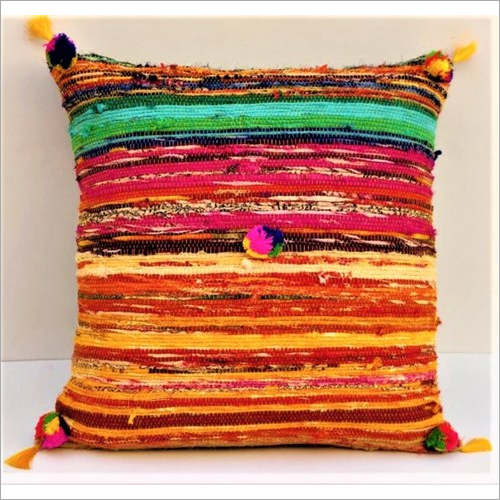Cotton Hand loom Cushion
