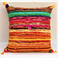Cotton Hand loom Cushion
