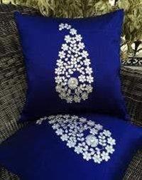 Zari Silk Cushion