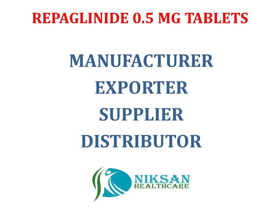 REPAGLINIDE 0.5 MG TABLETS