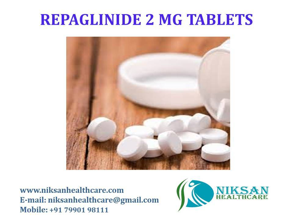 REPAGLINIDE 2 MG TABLETS