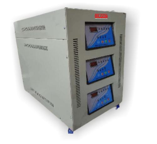 15 KVA Three Phase oil cooled Servo Voltage Stabilizer