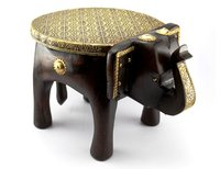 Wooden Handicraft Stools
