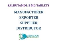 SALBUTAMOL 8 MG TABLET