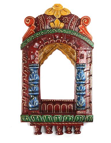 Wooden Handicraft Traditional Rajasthani Jharoka Set of 2