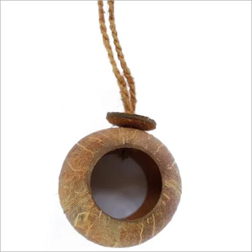 Coconut Shell Bird Feeder