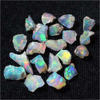 Natural Raw Fire Ethiopian Opal Rough Gemstones