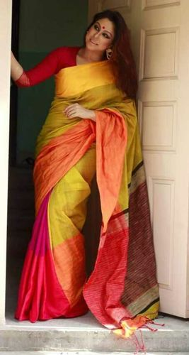 Mahapar Cotton Silk Saree