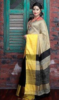 Mahapar Cotton Silk Saree