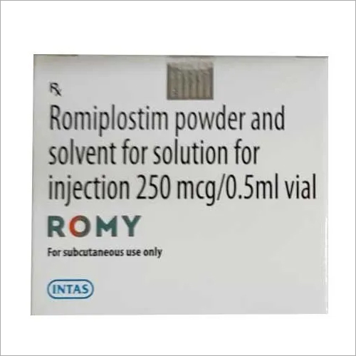 250 mg Romiplostim Powder And Solvent For Solution For Injection