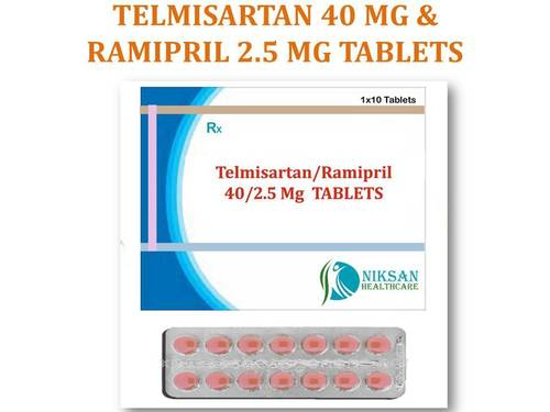 TELMISARTAN 40 MG & RAMIPRIL 2.5 MG TABLETS
