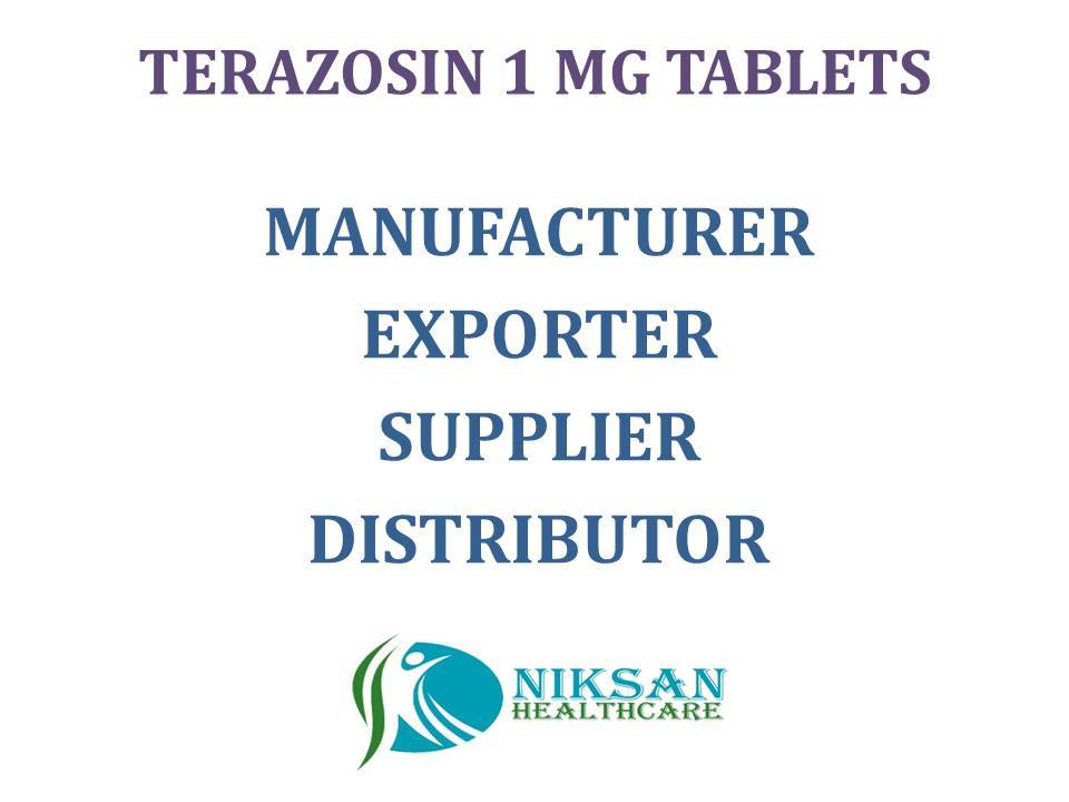 TERAZOSIN 1 MG TABLETS