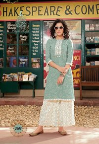 Fashion Galaxy Vol-2 Rayon Print Kurtis