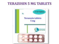 TERAZOSIN 5 MG TABLETS