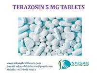 TERAZOSIN 5 MG TABLETS
