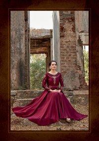 Ghoomer Vol-1 Silk Tapeta Gowns Set
