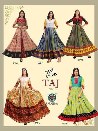 Taj Vol-5 Cotton Kurti Catalogue Set