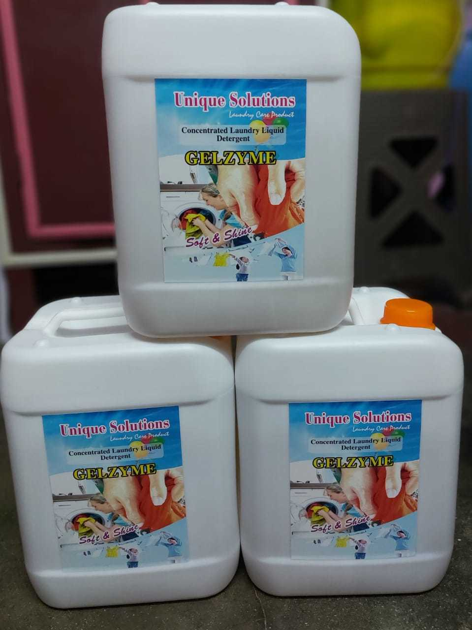 Laundry Liquid Detergent Gelzyme