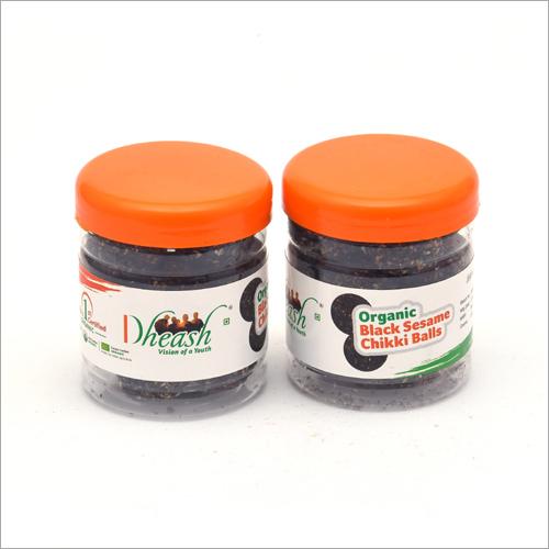 Organic Black Sesame Chikki Balls (100gms)