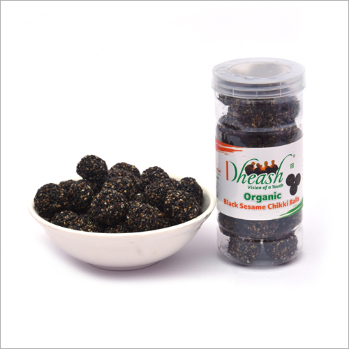 Organic Black Sesame Balls