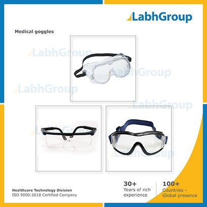 Medical Safety Goggles - Eye Protection Goggles