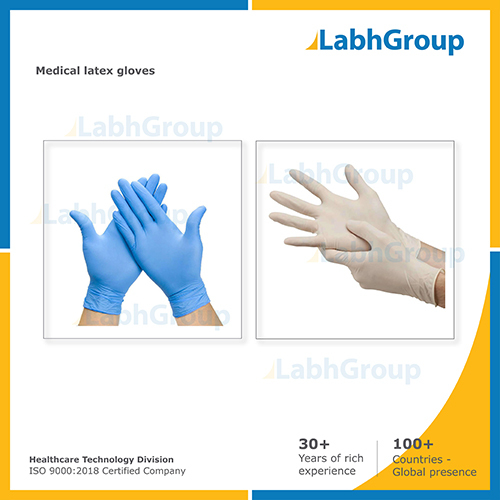 Medical Disposable Latex Hand Gloves