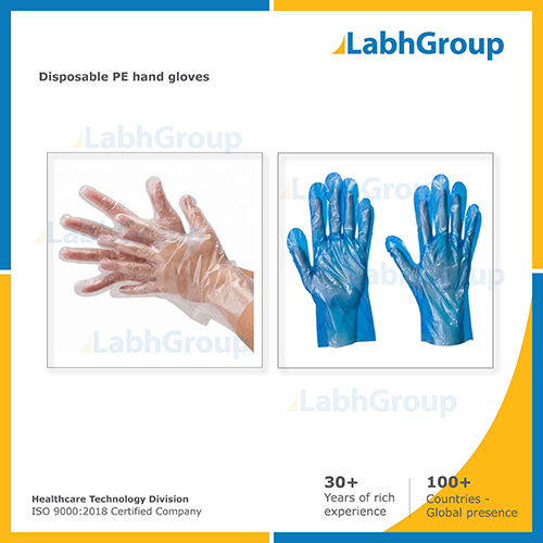 Medical Disposable PE Hand Gloves