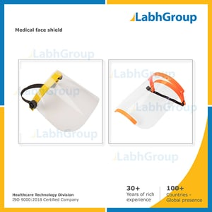 Medical Disposable Plastic Face Shield