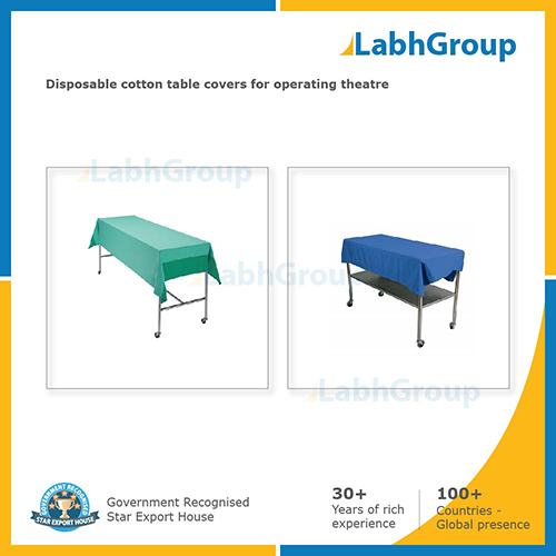 Disposable Cotton Table Covers for Operating Theatre