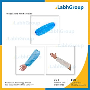 Non-woven  Plastic Disposable Hand Sleeves