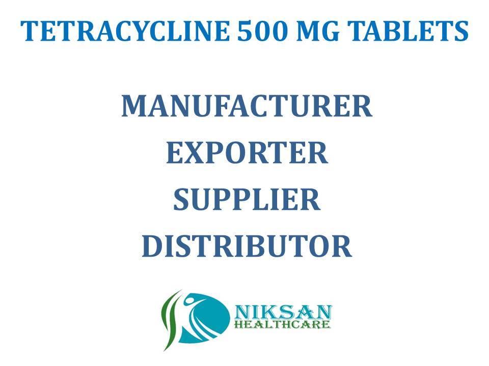 TETRACYCLINE 500 MG TABLETS