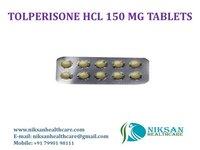 TOLPERISONE HCL 150 MG TABLETS