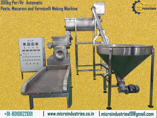 Automatic Pasta Macaroni Making Machine