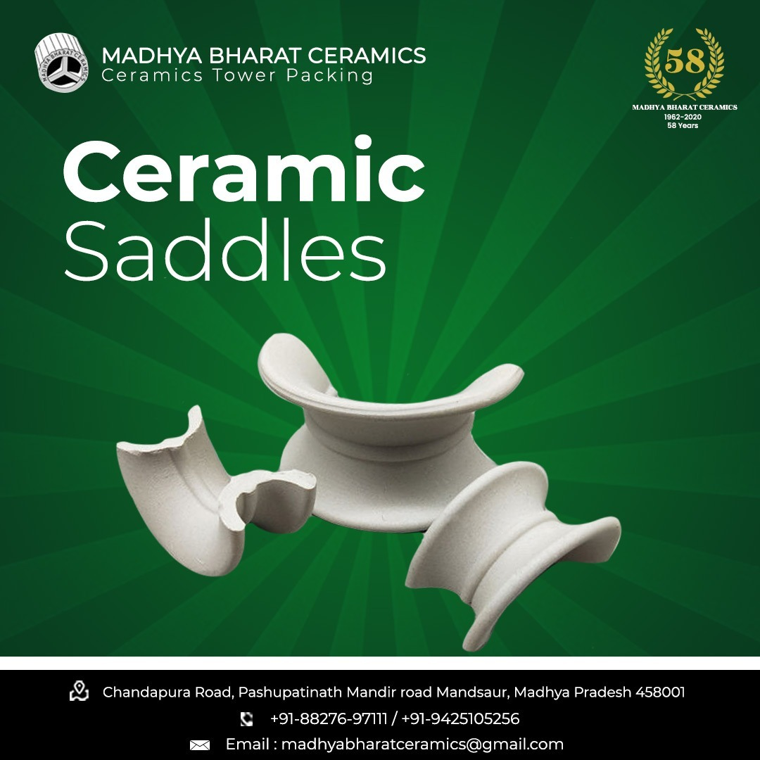 50 mm Ceramic Saddles