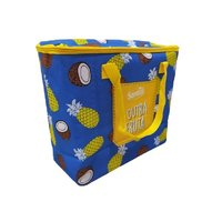 Large Capacity Picnic Insulated Lunch Bag (Dark Blue)