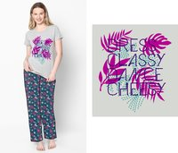 Womens Pyjama Set  Bio Washed