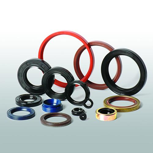 Single Lip Fabric Hydraulic Piston Rod Rubber Oil Seal