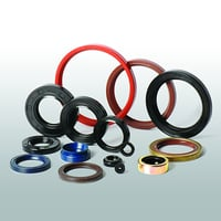 Single Lip Fabric Hydraulic Piston Rod Rubber Oil Seal