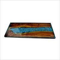 Wooden Epoxy Table