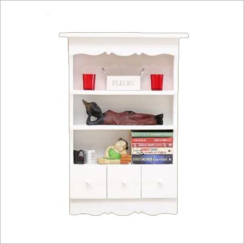 Wall Mount Wooden Modern Bookcase